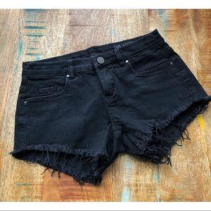 BLANK NYC Black Denim Short 24
